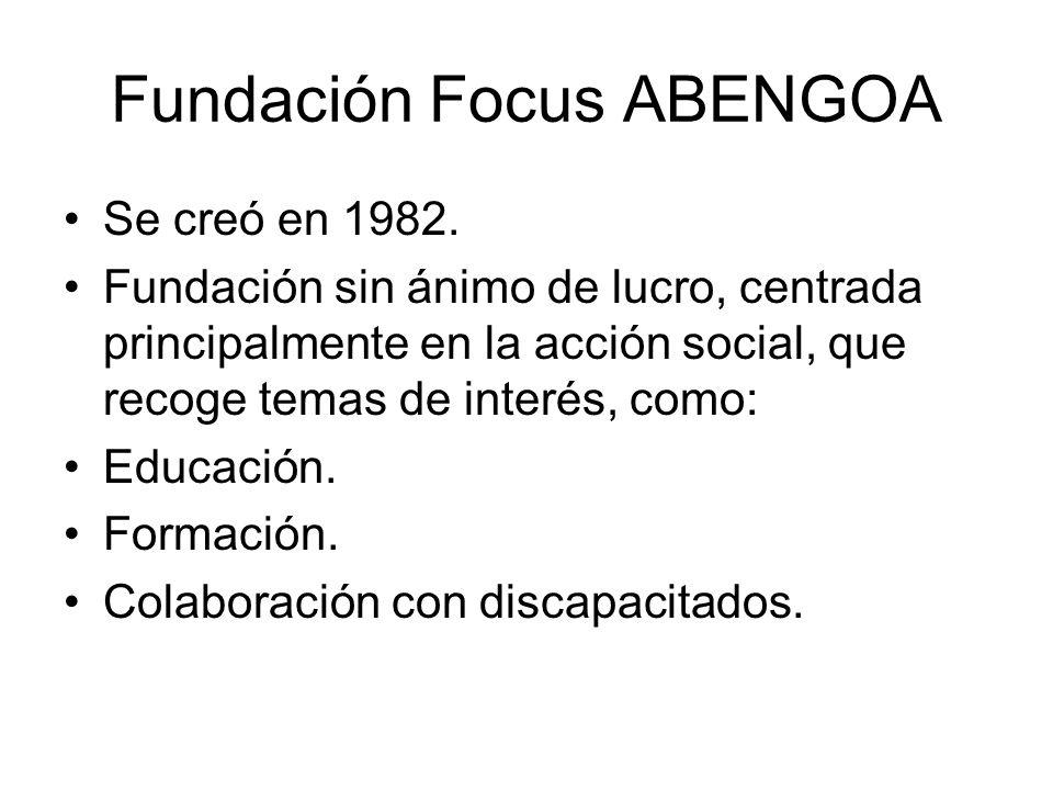 Fundación Focus ABENGOA