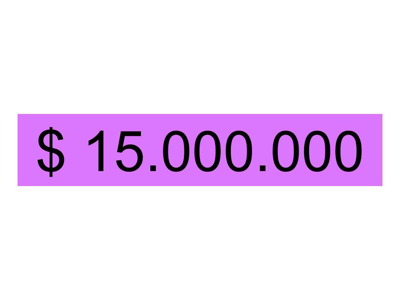 $ 15.000.000
