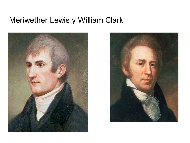 Meriwether Lewis y William Clark
