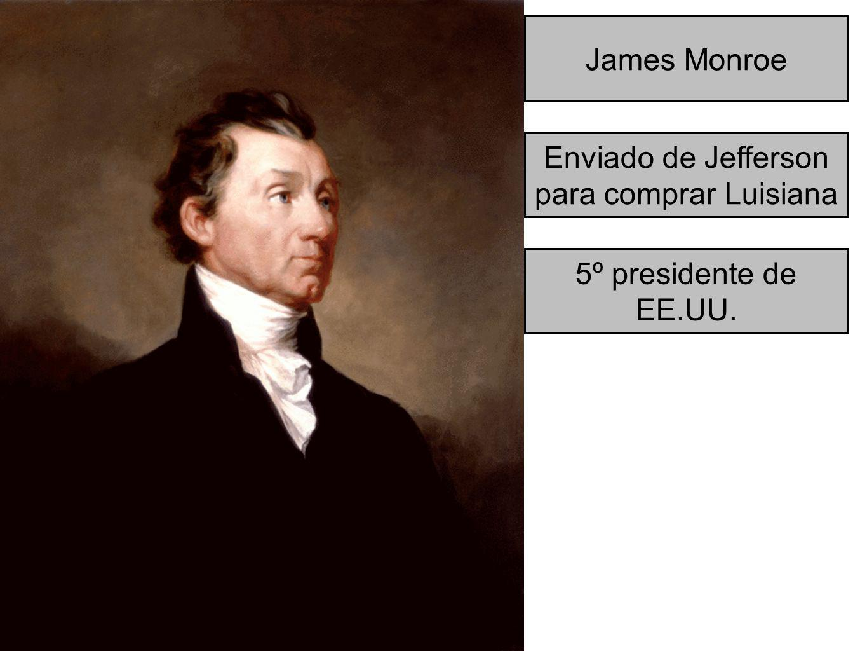 Enviado de Jefferson para comprar Luisiana