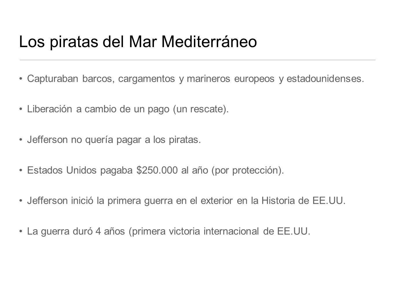 Los piratas del Mar Mediterráneo