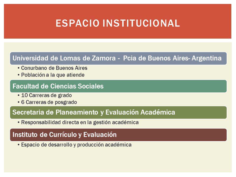 Espacio institucional