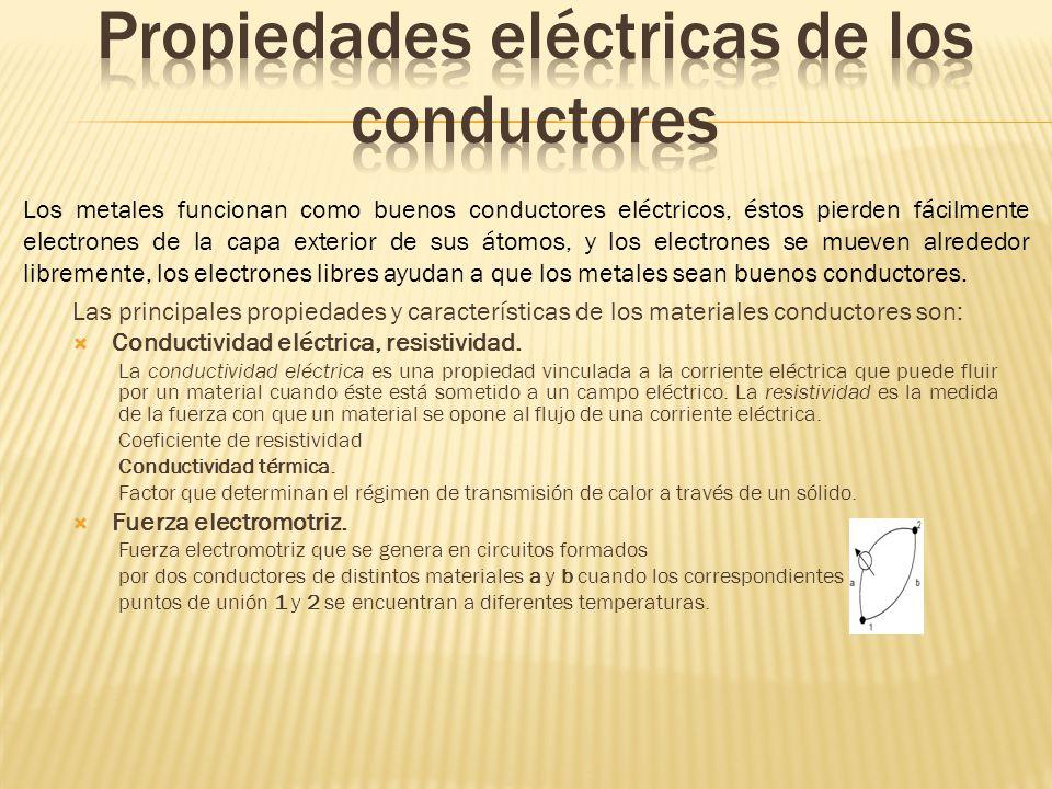 Propiedades eléctricas de los conductores