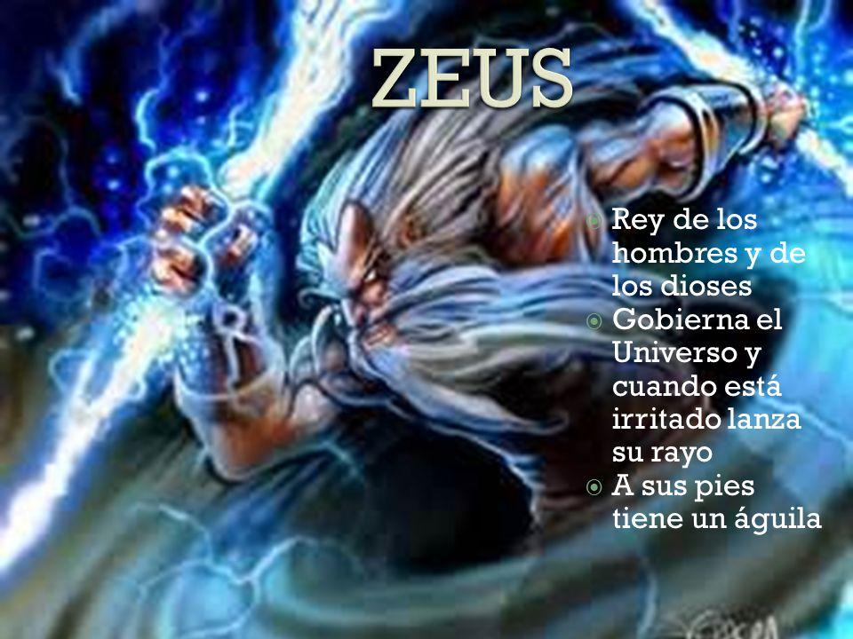 ZEUS Rey de los hombres y de los dioses