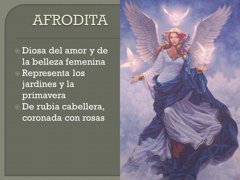 AFRODITA Diosa del amor y de la belleza femenina