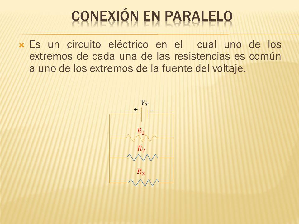 Conexión en paralelo