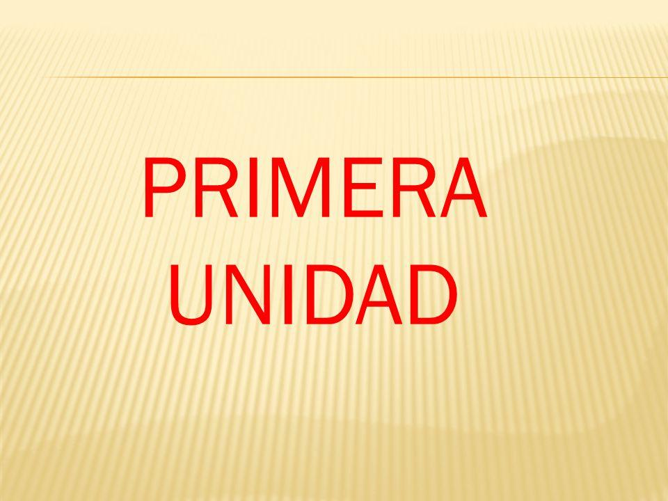 PRIMERA UNIDAD