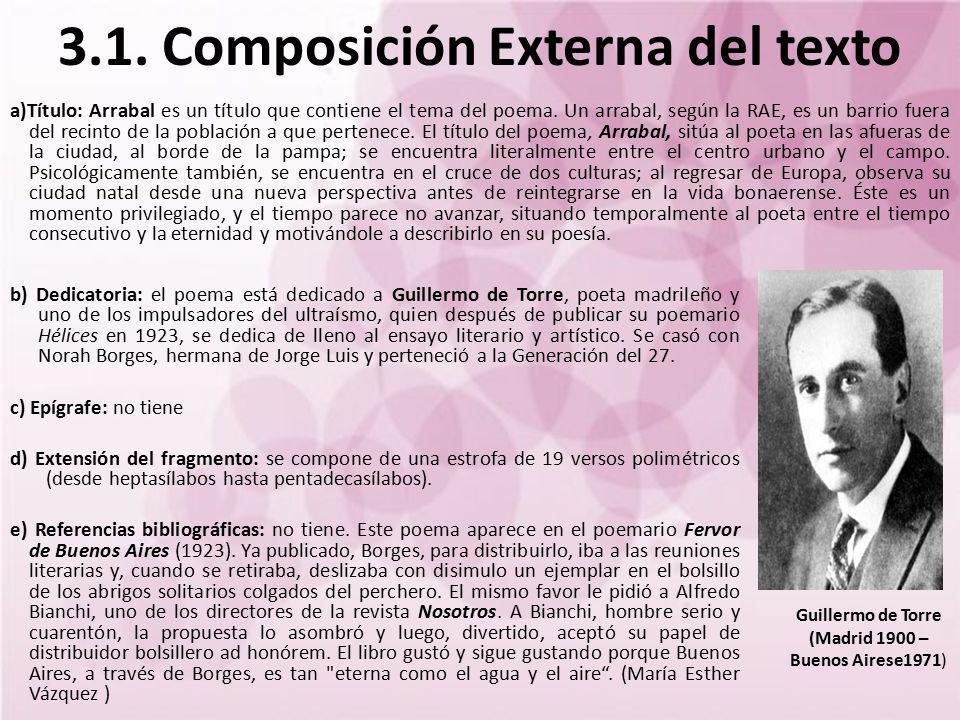 3.1. Composición Externa del texto