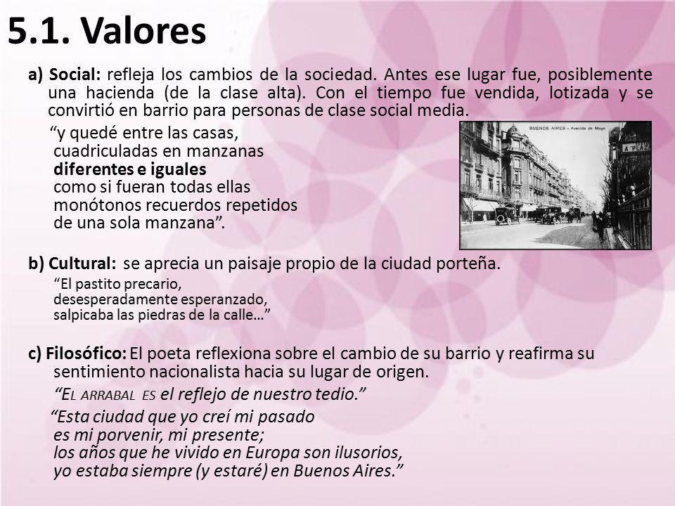 5.1. Valores