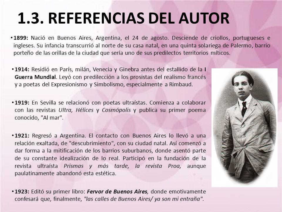 1.3. REFERENCIAS DEL AUTOR