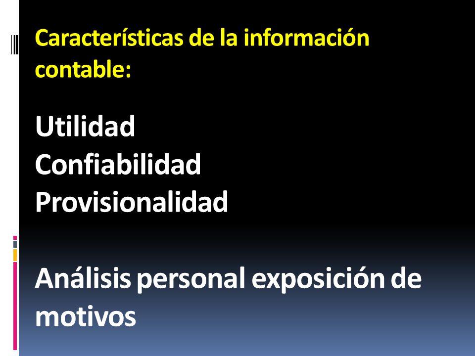 Análisis personal exposición de motivos