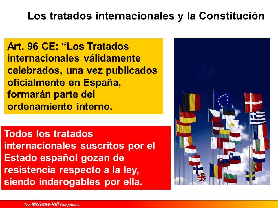Tratados y Constitución