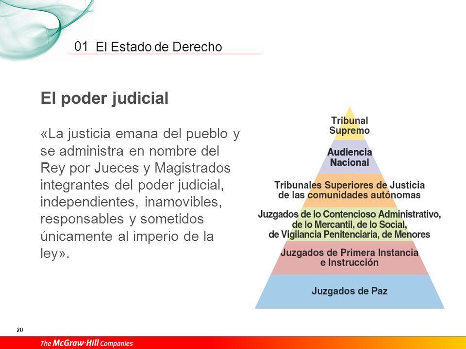01 El poder judicial.