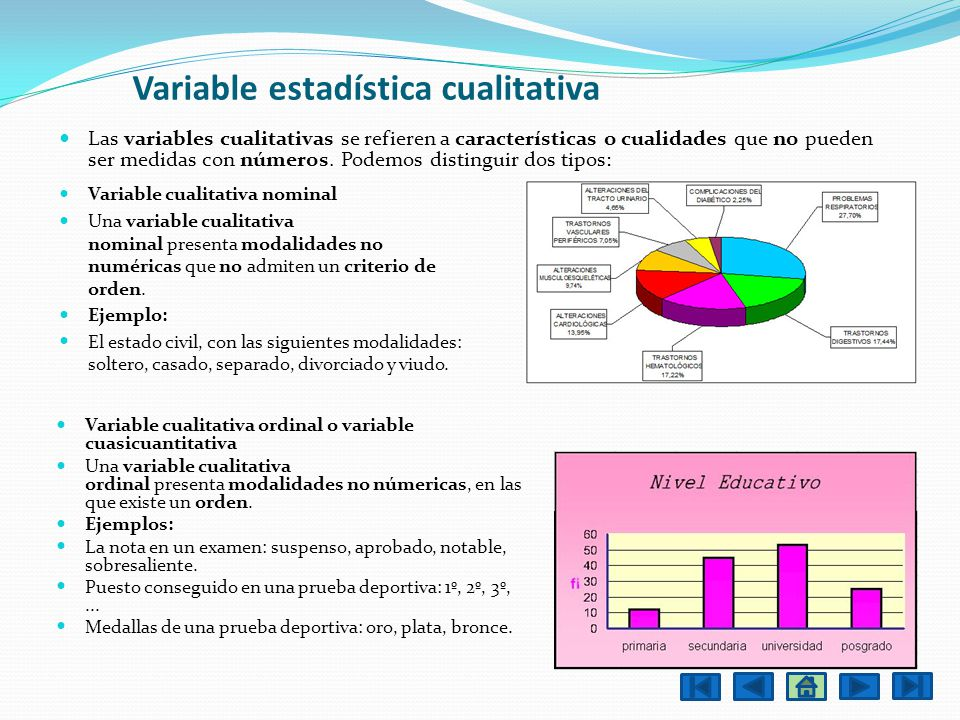 Variable estadística cualitativa