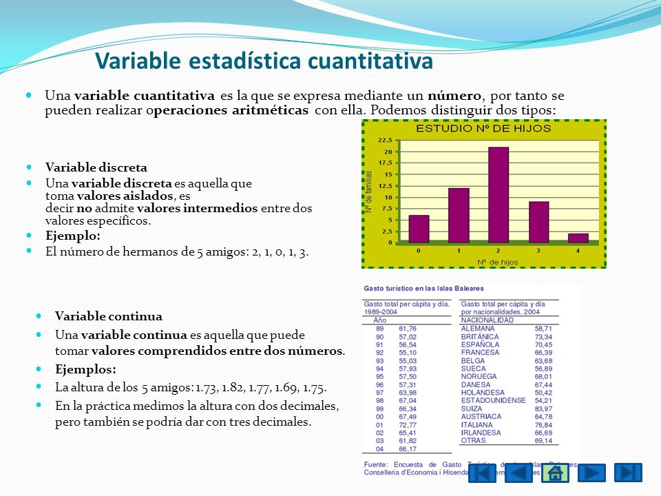Variable estadística cuantitativa