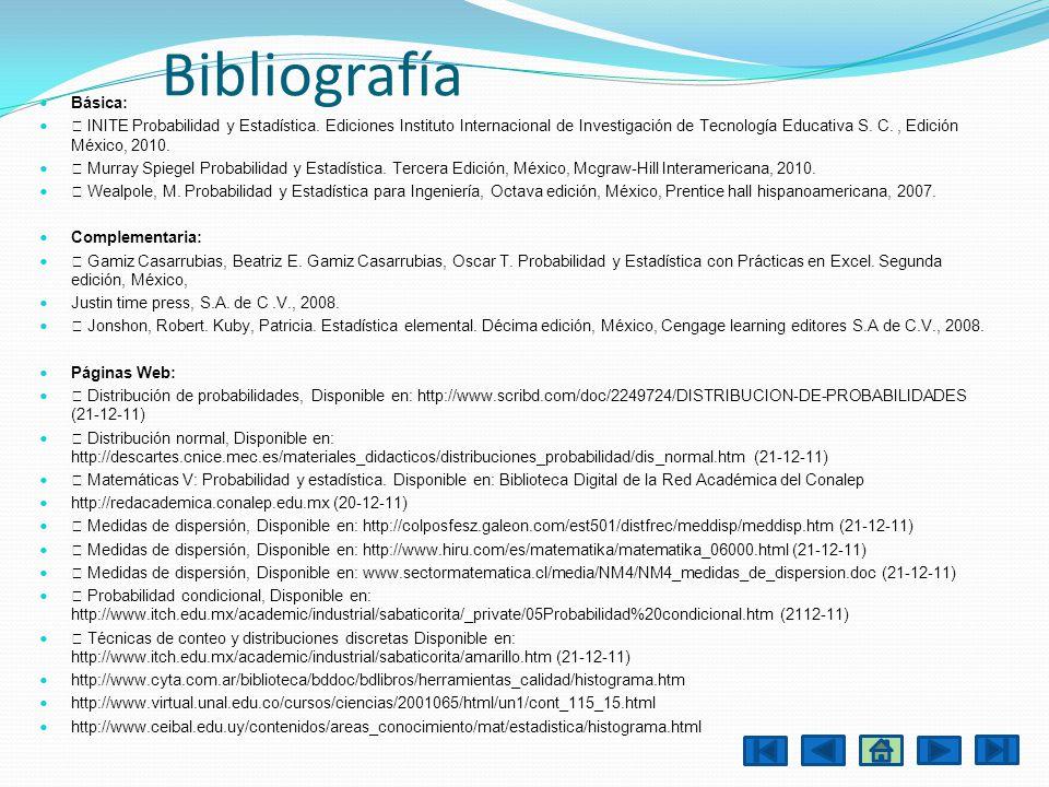 Bibliografía Básica:
