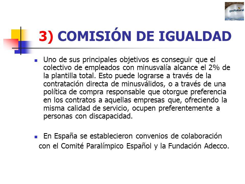 3) COMISIÓN DE IGUALDAD