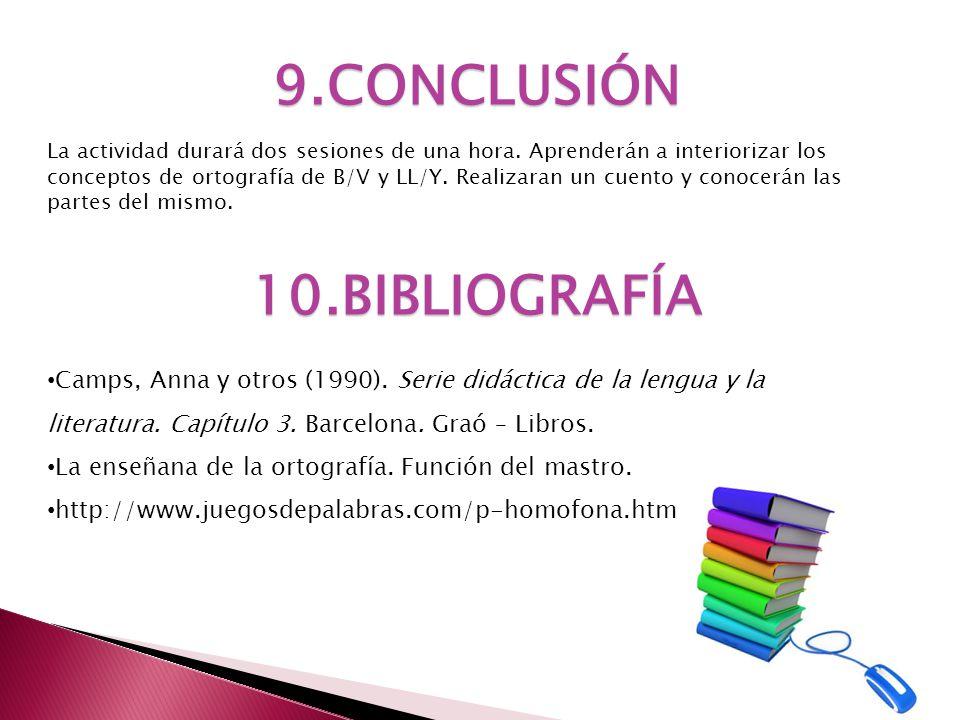 9.CONCLUSIÓN 10.BIBLIOGRAFÍA