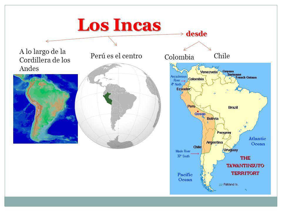 Los Incas desde A lo largo de la Cordillera de los Andes