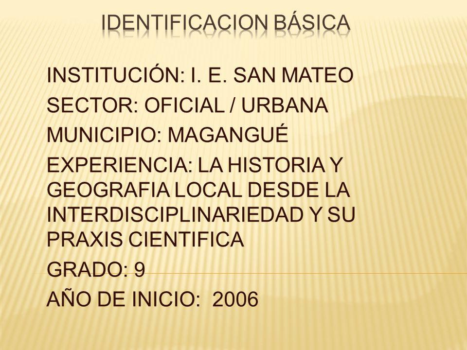 IDENTIFICACION BÁSICA