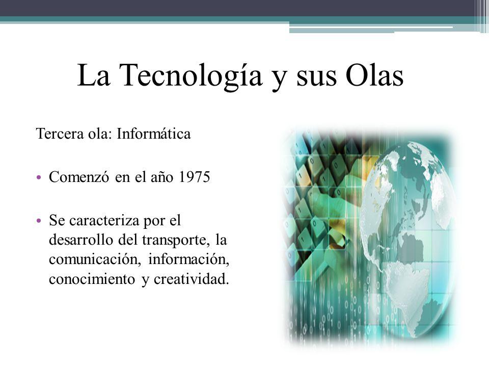 La Tecnología y sus Olas