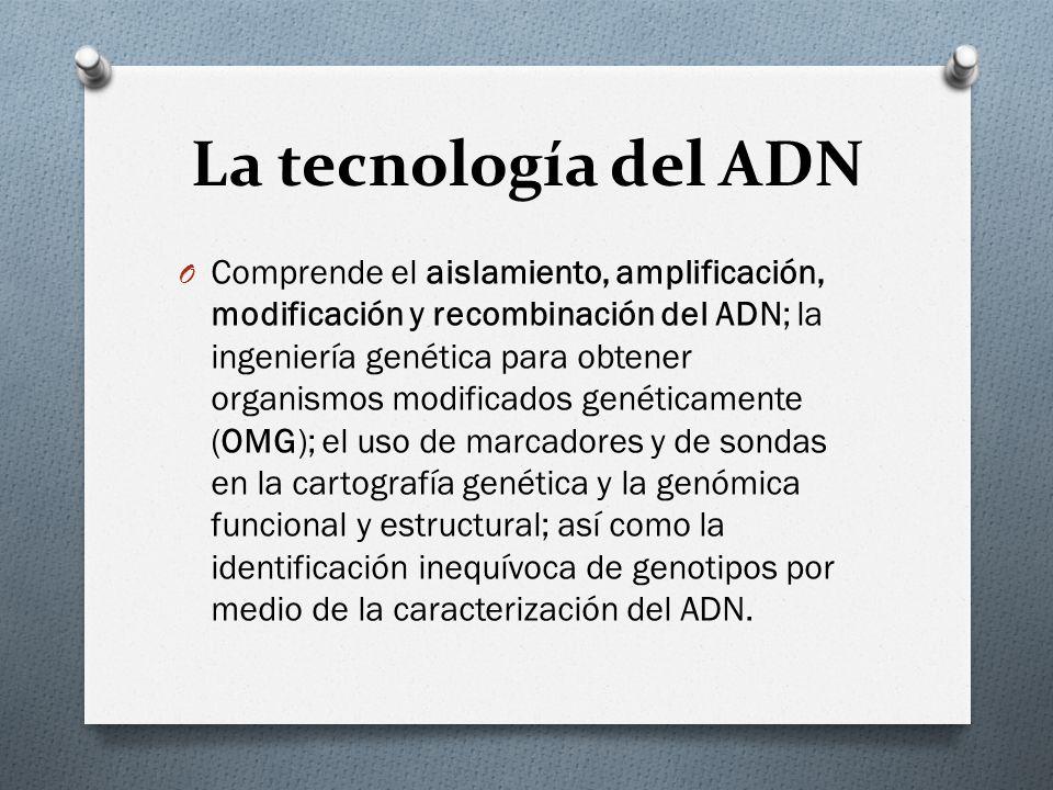 La tecnología del ADN