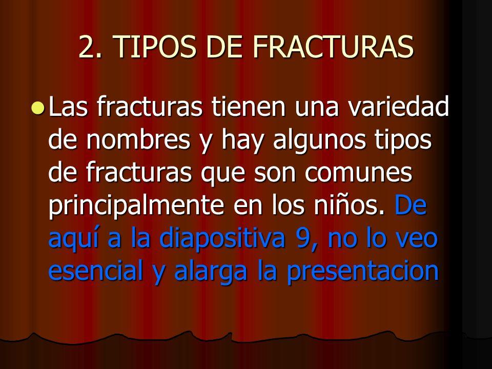2. TIPOS DE FRACTURAS