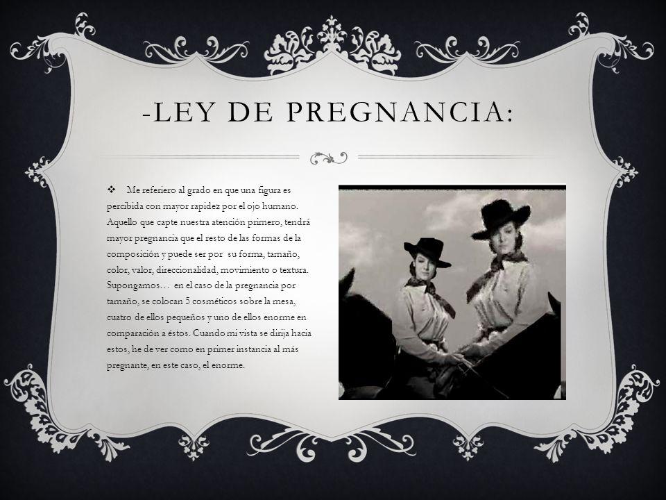 -Ley de Pregnancia: