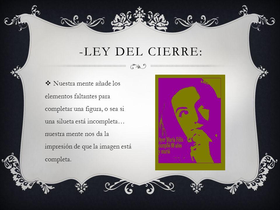 -Ley del Cierre: