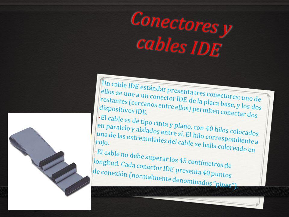 Conectores y cables IDE