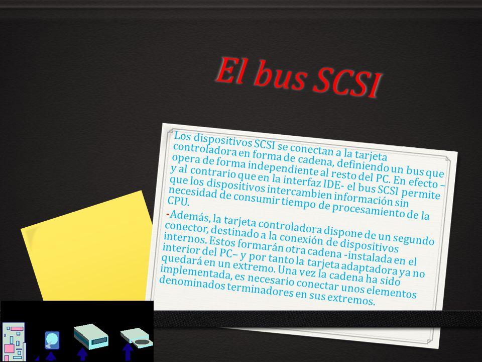 El bus SCSI