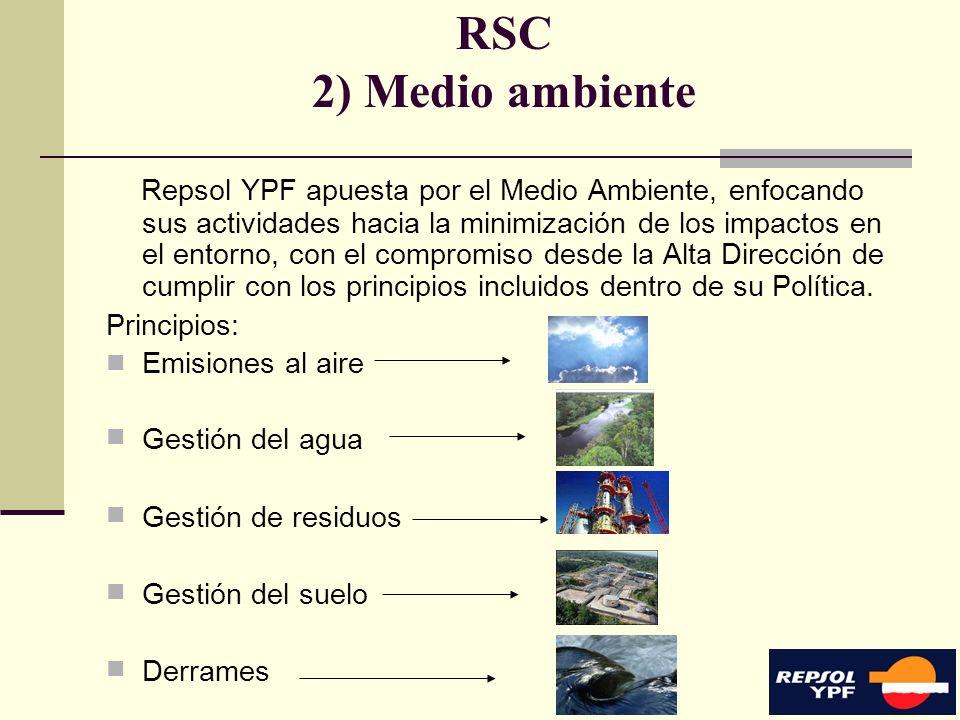 RSC 2) Medio ambiente