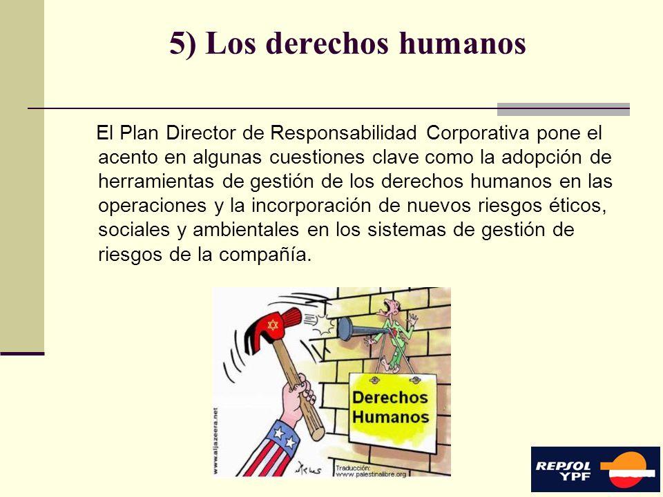 5) Los derechos humanos