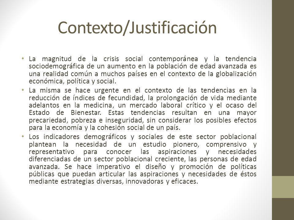 Contexto/Justificación