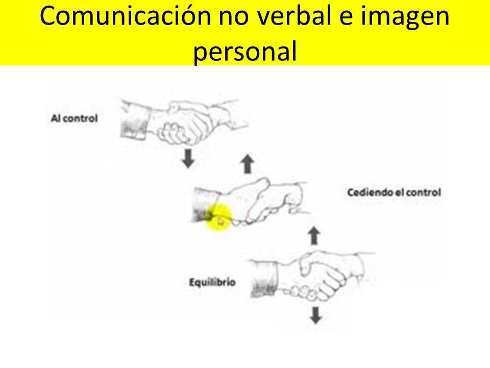 Comunicación no verbal e imagen personal