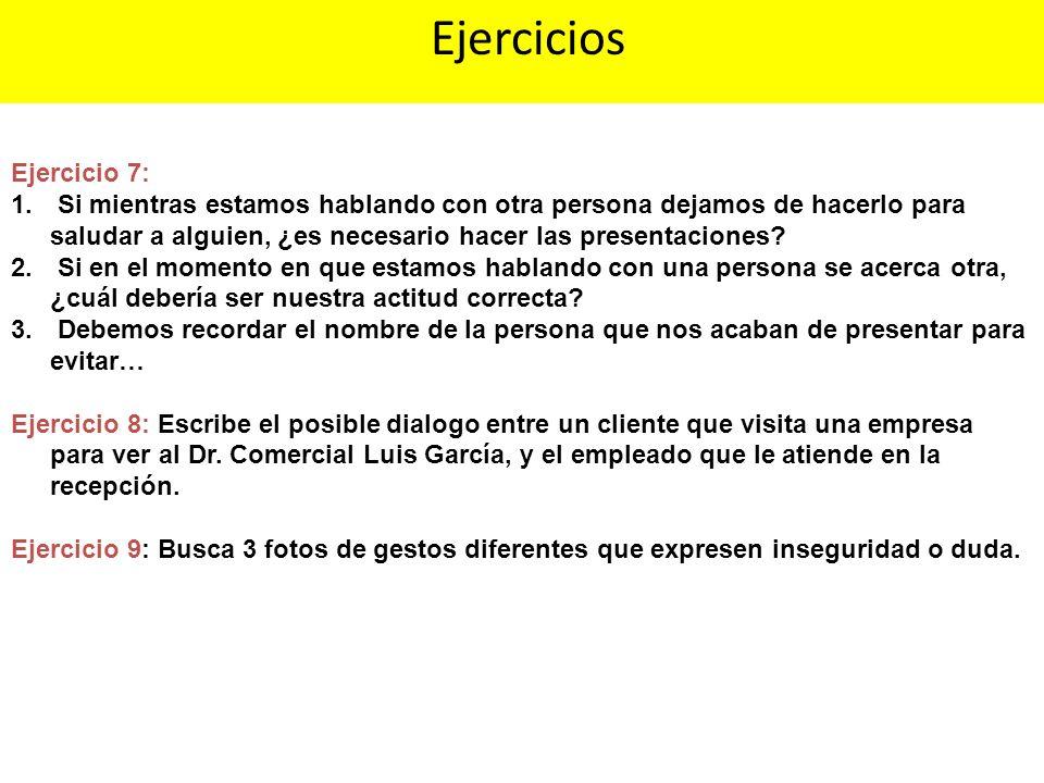 Ejercicios Ejercicio 7: