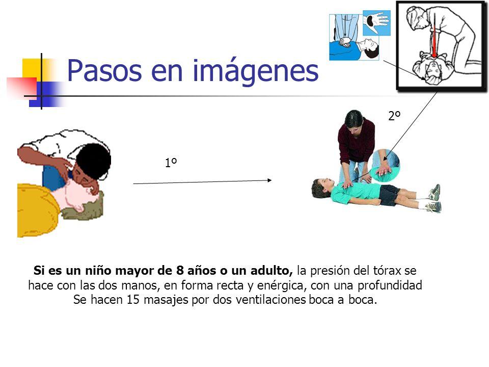 Pasos en imágenes 2º. 1º.