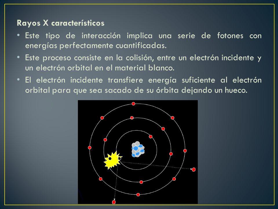 Rayos X característicos