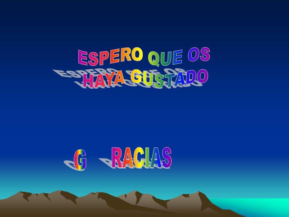 ESPERO QUE OS HAYA GUSTADO RACIAS G