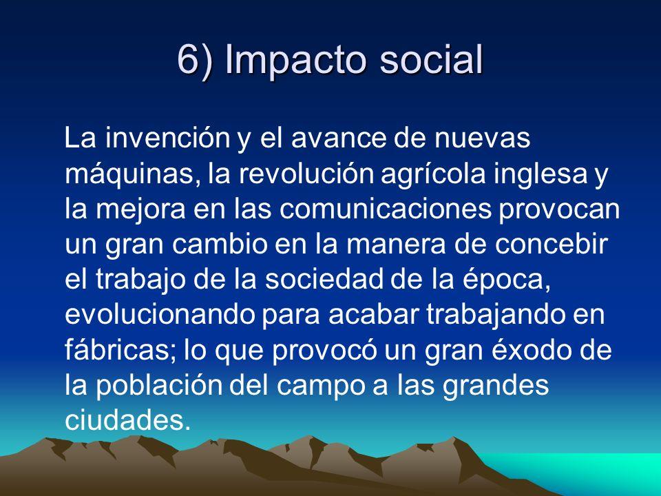 6) Impacto social