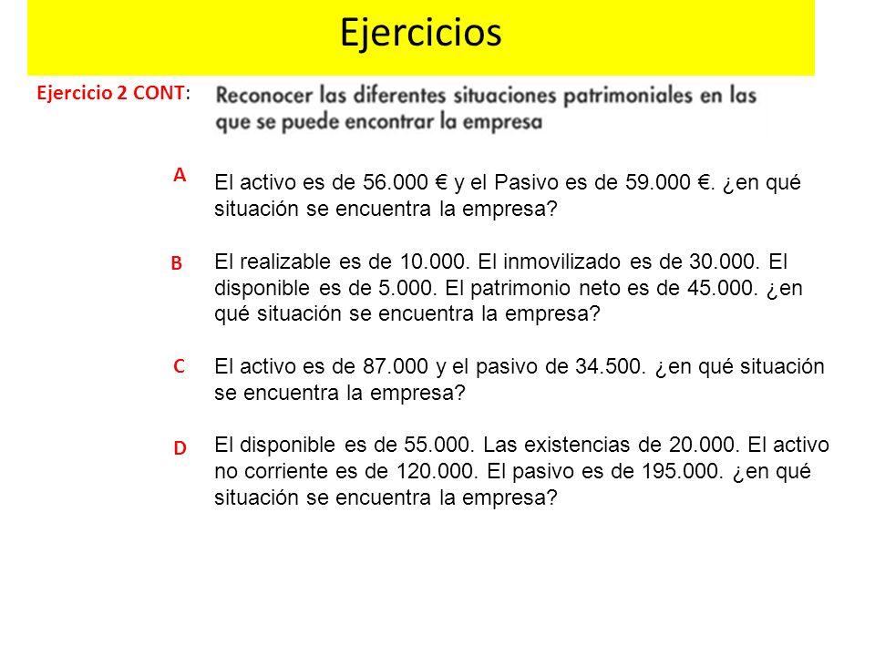 Ejercicios Ejercicio 2 CONT: A