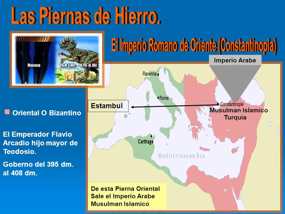 El Imperio Romano de Oriente (Constantinopla)