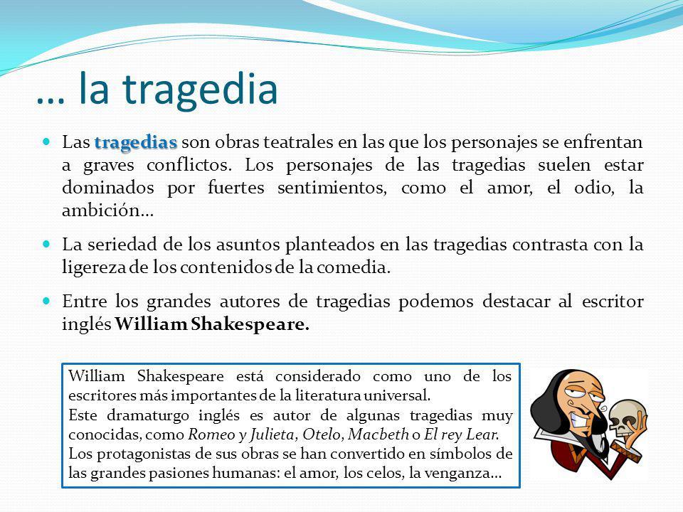 … la tragedia