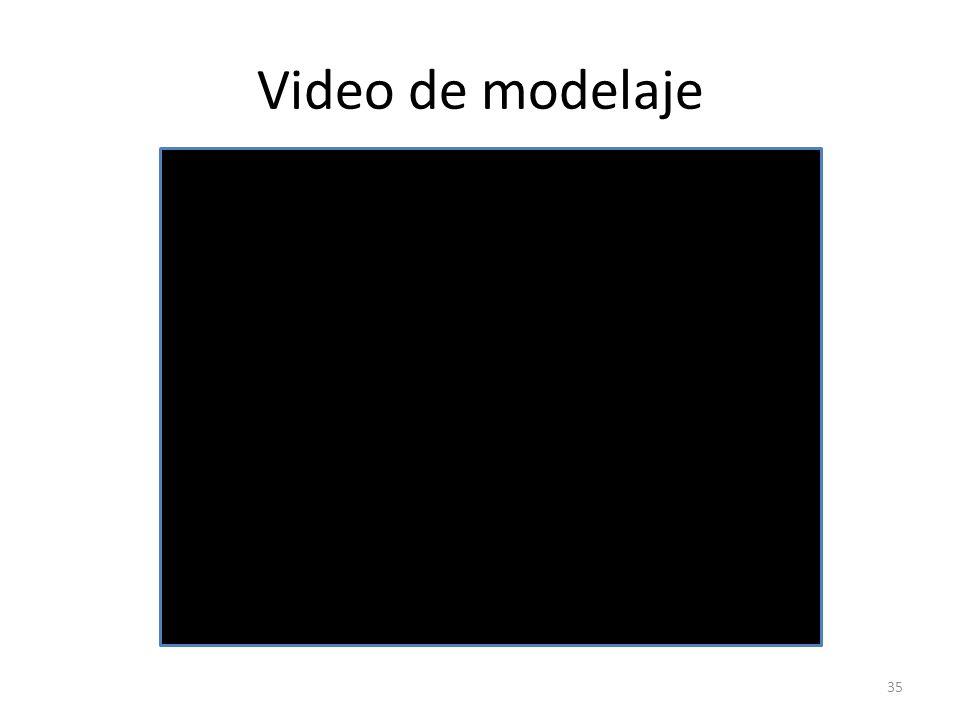 Video de modelaje