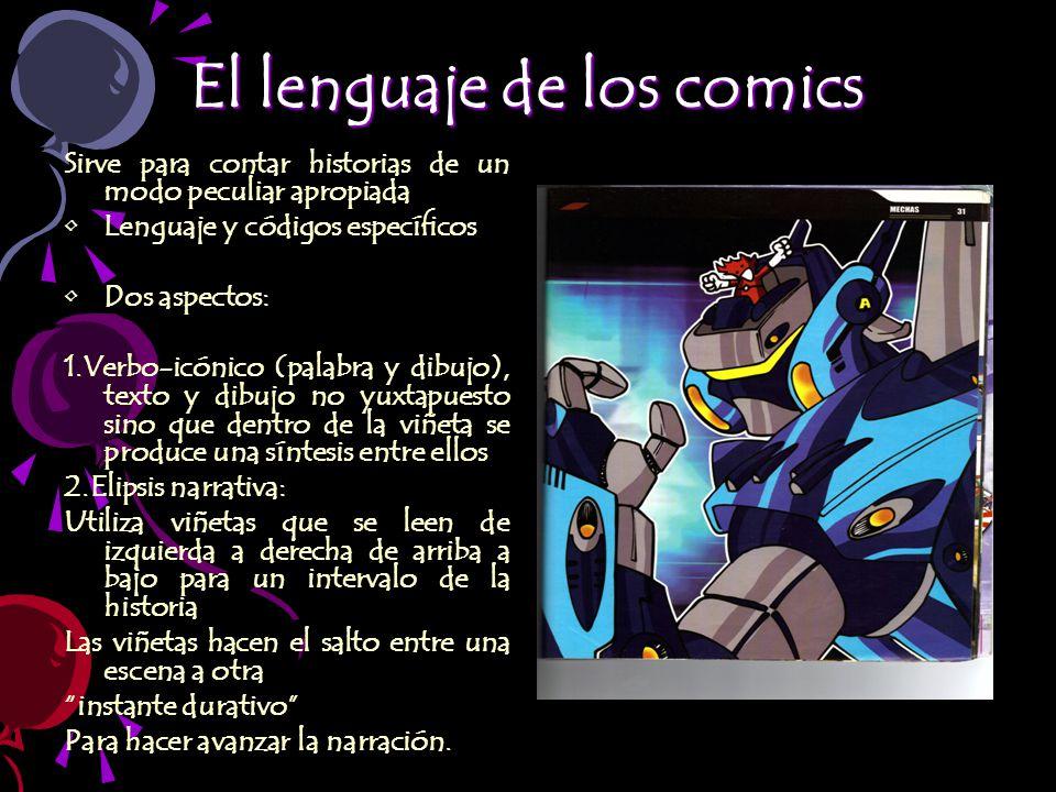 El lenguaje de los comics