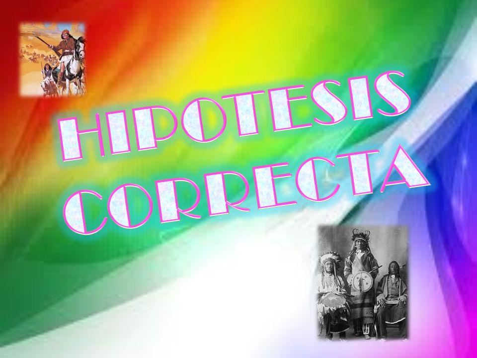 HIPOTESIS CORRECTA