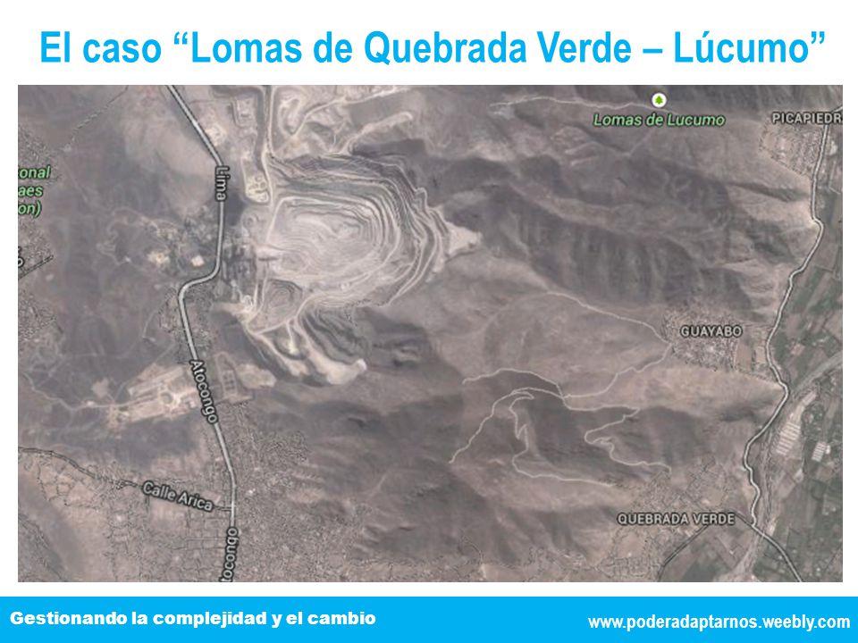El caso Lomas de Quebrada Verde – Lúcumo