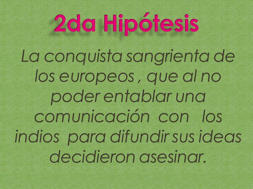 2da Hipótesis