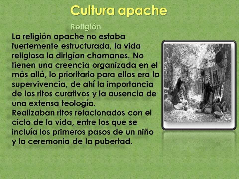 Cultura apache Religión