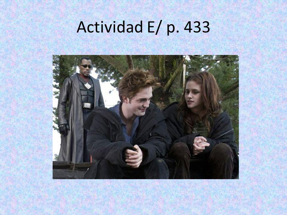 Actividad E/ p. 433